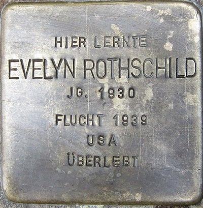 Stolperstein Pforzheim Rothschild Evelyn.jpeg
